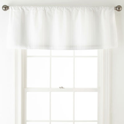 Liz Claiborne Rod-Pocket Tailored Valance