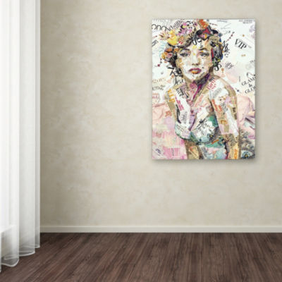 Trademark Fine Art Ines Kouidis Glam & Glory Giclee Canvas Art