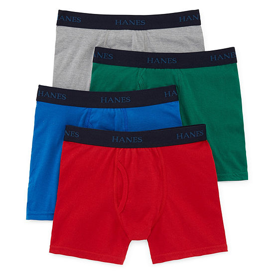 Hanes Little Kid / Big Kid Boys 4 Pair Boxer Briefs