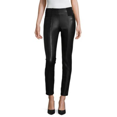Worthington Womens Mid Rise Skinny Pull-On Pants