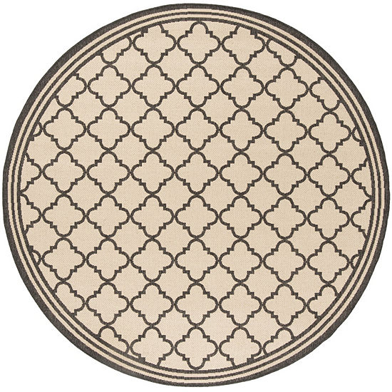 Safavieh Linden Collection Ellison Geometric RoundArea Rug