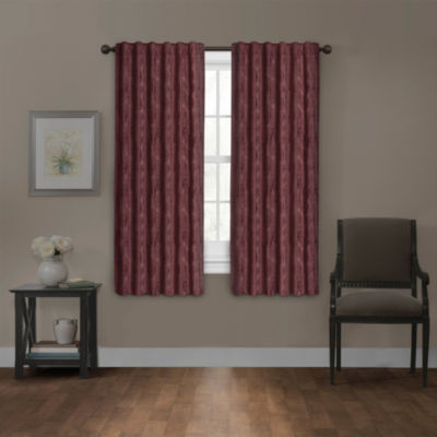 Platinum Smart Curtains Carlton Blackout Back-Tab Curtain Panel