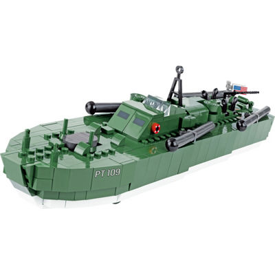 Cobi Small Army World War Ii Motor Torpedo Boat Pt-109 480 Piece Construction Blocks Building Kit