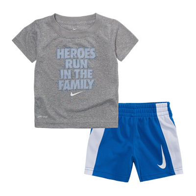 Nike Baby Sets 2-pc. Short Set Girls