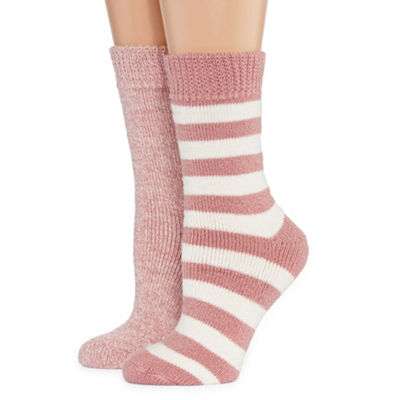 Mixit 2 Pair Crew Socks - Womens
