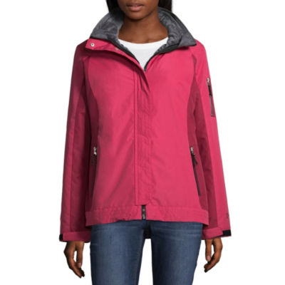 Free Country Hooded Water Resistant 3-In-1 System Jacket-Petite