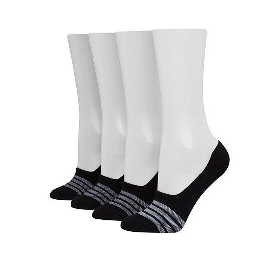 Hanes 4 Pair Liner Socks - Womens