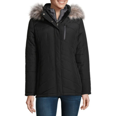 Free Country Hooded Water Resistant Heavyweight Puffer Jacket