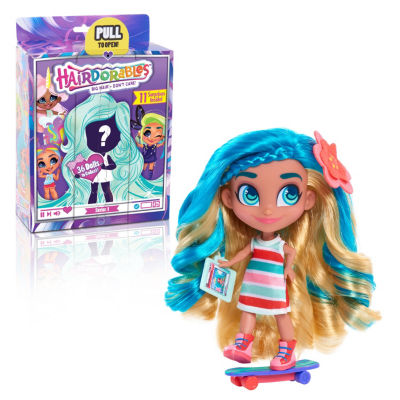 Hairdorables Collectible Surprise Doll & 11 Surprise Accessories