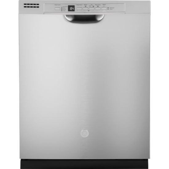 GE® ENERGY STAR® Dishwasher with Front Controls