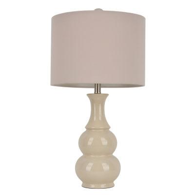 Decor Therapy Harper Ceramic Table Lamp