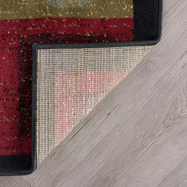 Tayse Ethan Contemporary Geometric Runner Rug
