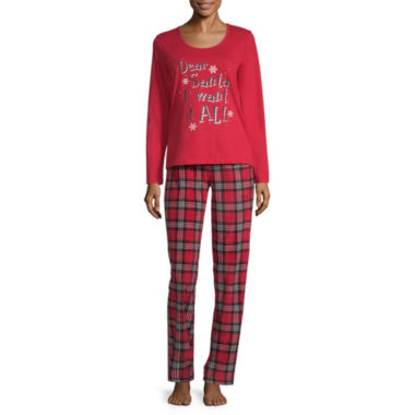 Holiday #Fam Jams 2-pc. Pant Pajama Set