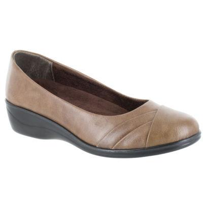 Easy Street Womens Nancy Slip-On Shoes Slip-on Round Toe