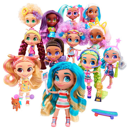 Hairdorables Collectible Surprise Doll & 11 Surprise Accessories