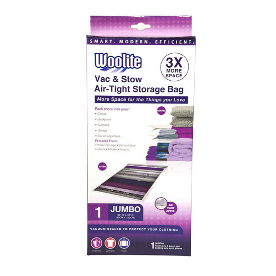 1 Piece Jumbo Vacuum Storage Bag 35x48