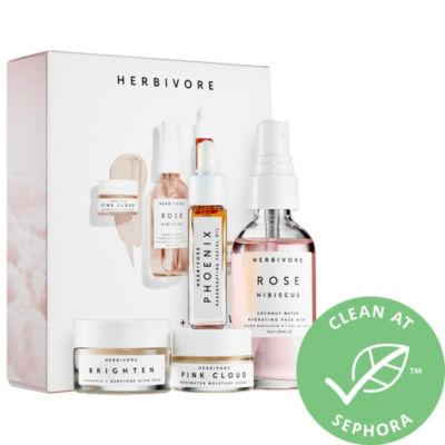 Herbivore Hydrate + Glow Natural Skincare Mini Collection