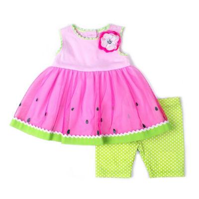 Nanette Baby 2-pack Short Set Baby Girls
