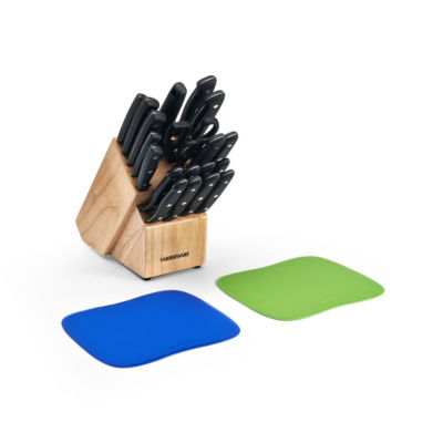 Farberware 23-Pc. Piece Traditions Knife Block Set