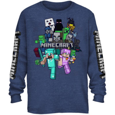 Minecraft Graphic T-Shirt Boys