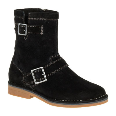 Hush Puppies Womens Aydin Catelyn Motorcycle Boots Zip