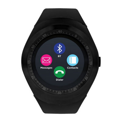 Itouch Curve Unisex Black Smart Watch-Itr4360b788-003
