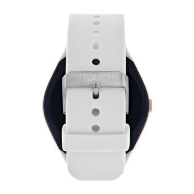 Itouch Curve Unisex White Smart Watch-Itr4360rg788-001