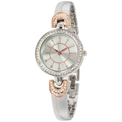 Womens Two Tone Bracelet Watch-St2382s695-956