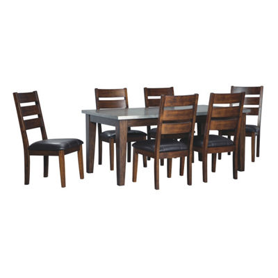 Signature Design by Ashley® Larchmont 7 Pc Dining Set
