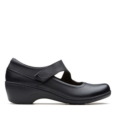 Clarks Womens Channing Penny Slip-On Shoe Closed Toe