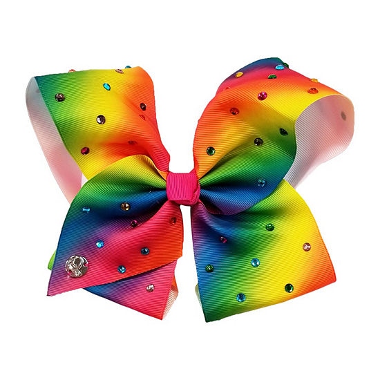 JoJo Siwa Large Signature Hair Bow Rainbow