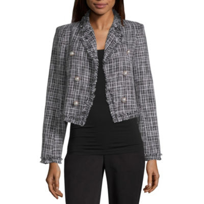 Worthington Womens Boucle Blazer