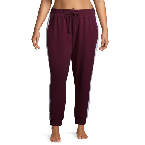 Flirtitude Colorblocked Joggers - Juniors Plus