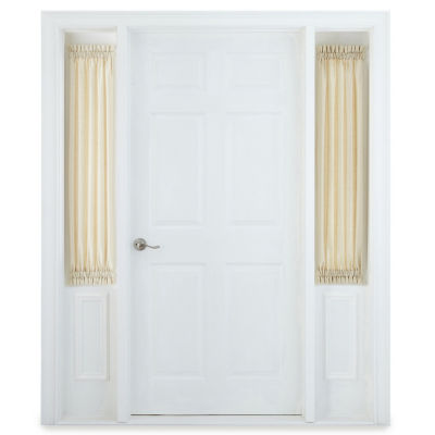 JCPenney Home Supreme Rod-Pocket Sidelight Curtain