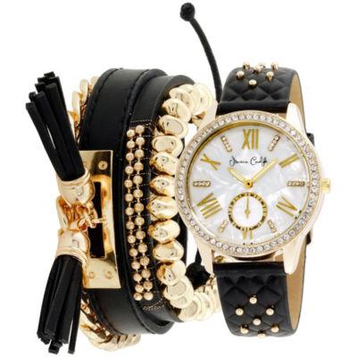 Womens Black Bracelet Watch-St2383g695-003