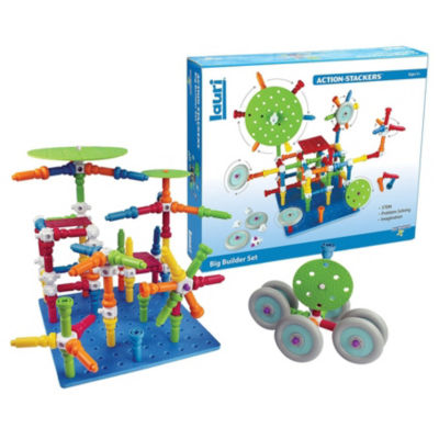 Lauri Toys Action-Stackers Big Builder Set