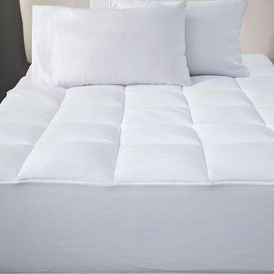 Bed Tite Microfiber Mattress Pad with Bed Tite Skirt