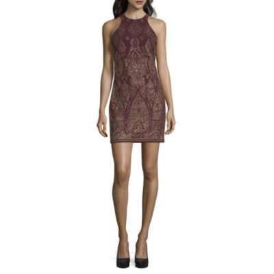 Reign On Sleeveless Embellished Party Dress-Juniors