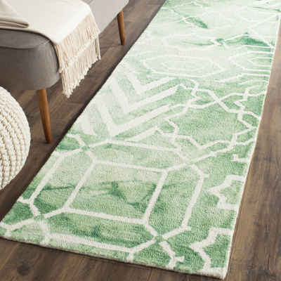 Safavieh Dip Dye Collection Venice Chevron Runner Rug