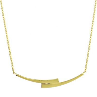 Sechic Womens 14K Gold Pendant Necklace