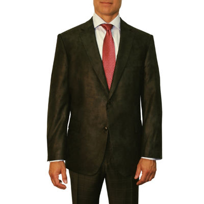 Jean Paul Germain Faux Leather Blazer