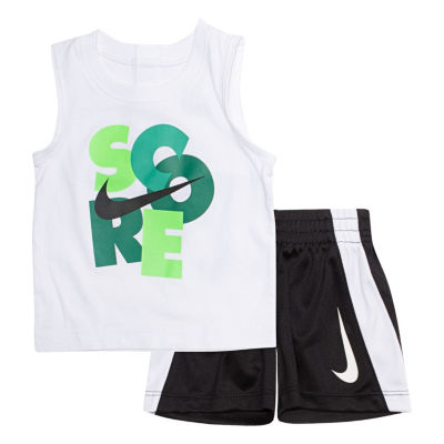 Nike 2-pc. Score Muscle Tee Short Set- Baby Boys