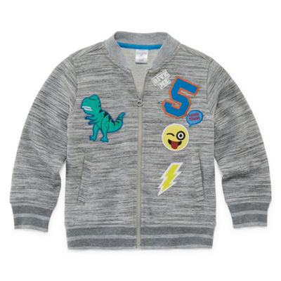 Okie Dokie Lightweight Bomber Jacket-Toddler Boys