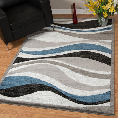 United Weavers Studio Collection Silica Rectangular Rug