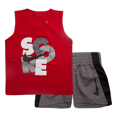 Nike Sets 2-pc.Score Muscle Tee Short Set- Baby Boys