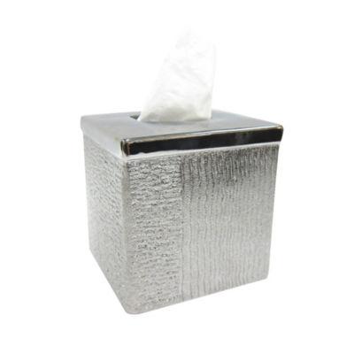 Croscill Classics Roebling Stripe Tissue Box Cover