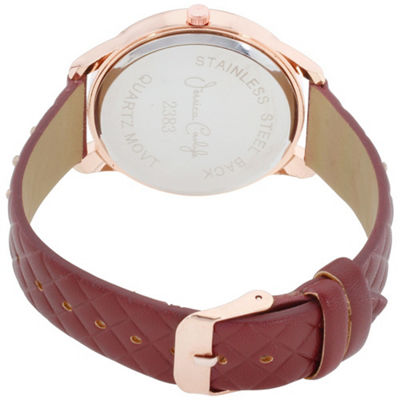 Womens Red Bracelet Watch-St2383rg695-031