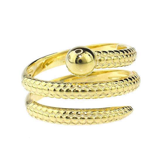 Sechic Womens 20mm 14K Gold Band