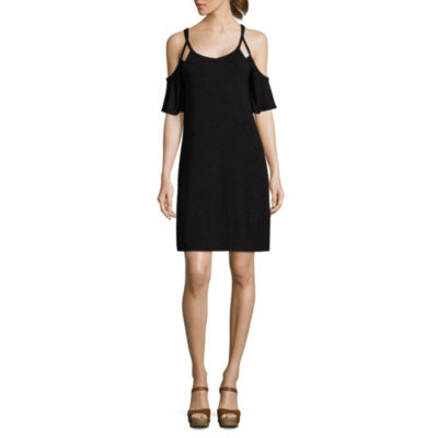 a.n.a Short Sleeve Swing Dresses