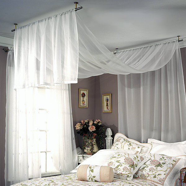 JCPenney  Ceiling Mount Curtain Rods